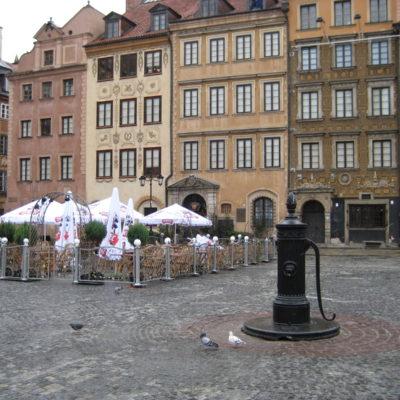 Warschau - Martkplatz Altstadt